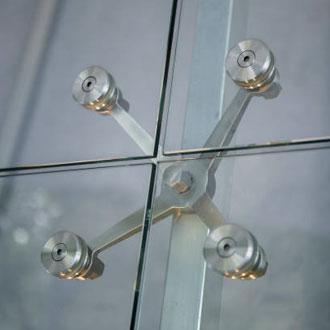 Sistema de Punto Fijo SPIDER GLASS | ALCRISTAL C.A.