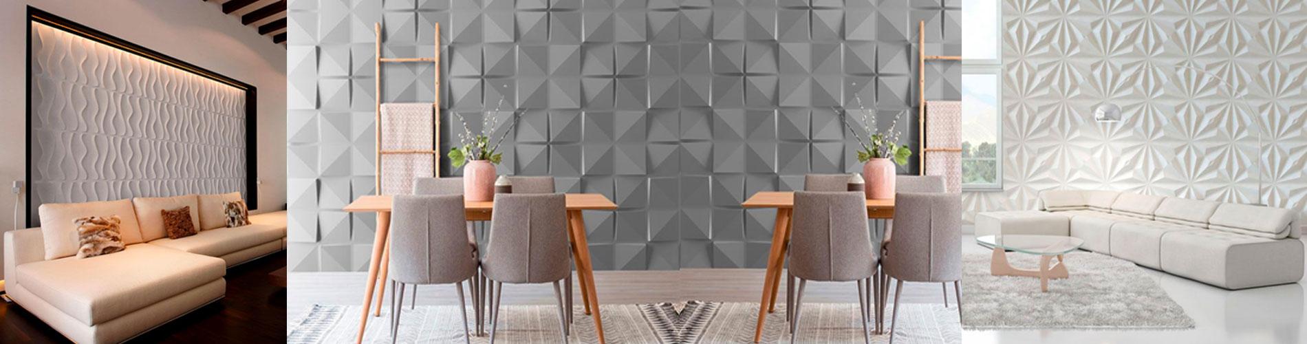 Paneles Decorativos Wall Forms para pardes.